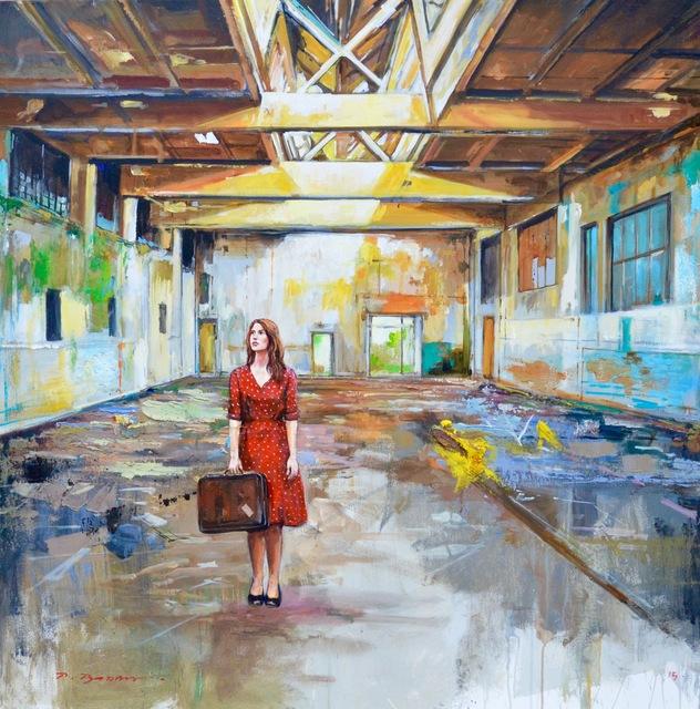 , 'The Red Dress,' 2018, Isabella Garrucho Fine Art