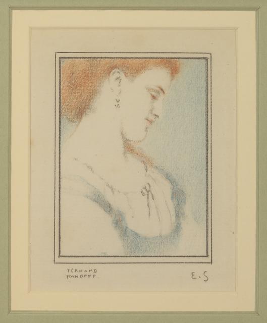 , 'Pour 'Les Pensées' d'Eugène Smits,' ca. 1913, DICKINSON