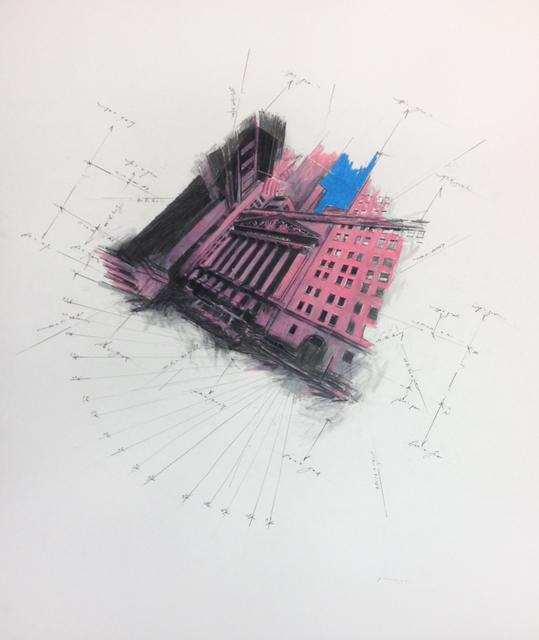 , 'Stock Exchange Descending,' 2014, Octavia Art Gallery