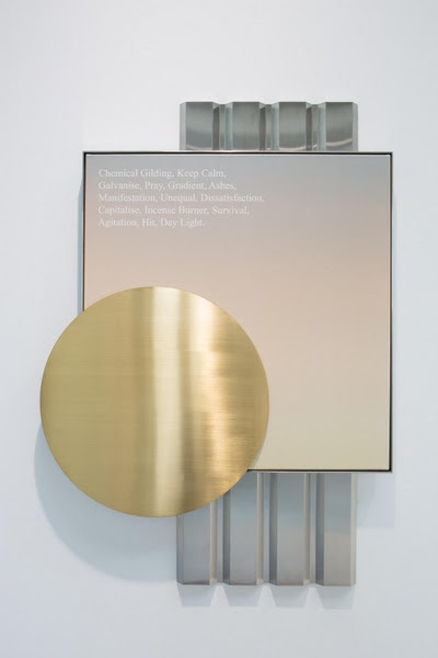 , 'Chemical Gilding, Keep Calm, Galvanise, Pray, Gradient, Ashes, Manifestation, Unequal, Dissatisfaction, Capitalise, Incense Burner, Survival, Agitation, Hit, Day Light, IV,' 2016, Edouard Malingue Gallery