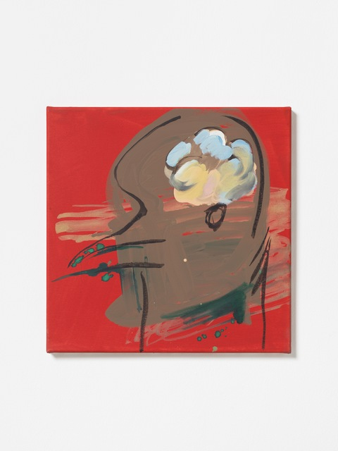 Camille Henrot, 'Untitled', 2020, Painting, Watercolor, acrylic, oil on canvas, KÖNIG GALERIE