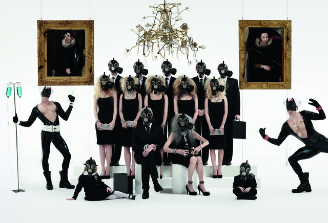 , 'Batman Family Portrait and Twin Nurses - 2084,' 2011, Opera Gallery