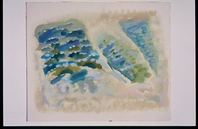 Ethel Schwabacher, 'Untitled Seascape #200', 1956, Anita Shapolsky Gallery