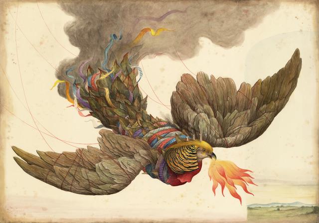 El Gato Chimney, 'Mimesis', 2015, Antonio Colombo
