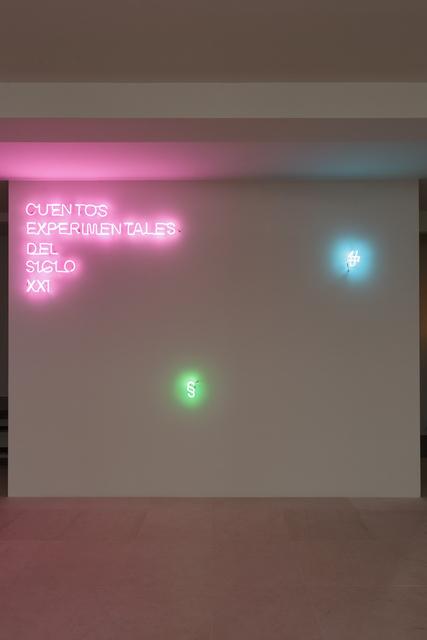 , 'Cuentos Experimentales del siglo XXI,' 2018, Galeria Solo / Eva Albarran & Christian Bourdais