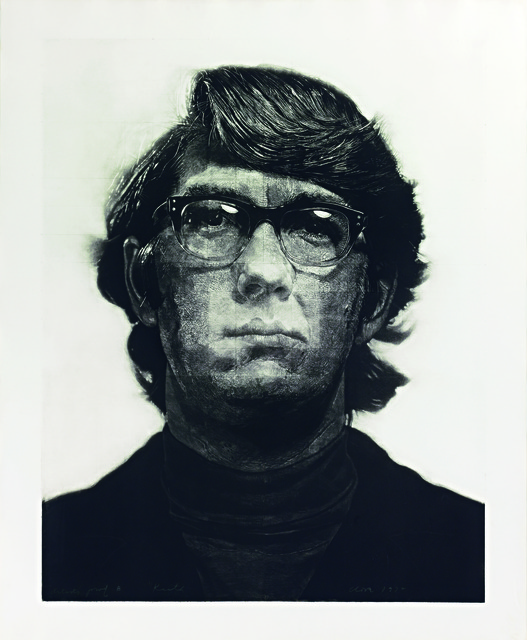 , 'Keith / Mezzotint,' 1972, Contessa Gallery