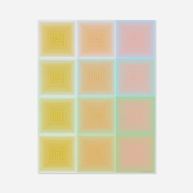 Richard Anuszkiewicz, 'Untitled (from the Inward Eye portfolio)', 1970, Wright