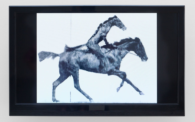 , 'Horse Riding Horse (after Eadweard Muybridge),' 2008, Tina Kim Gallery