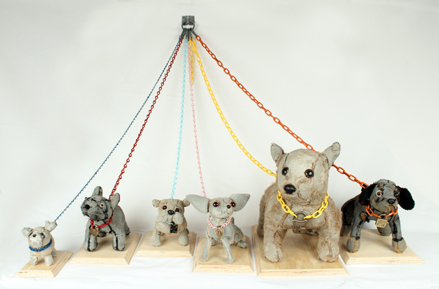 , 'Dogs installation,' , Rebecca Hossack Art Gallery