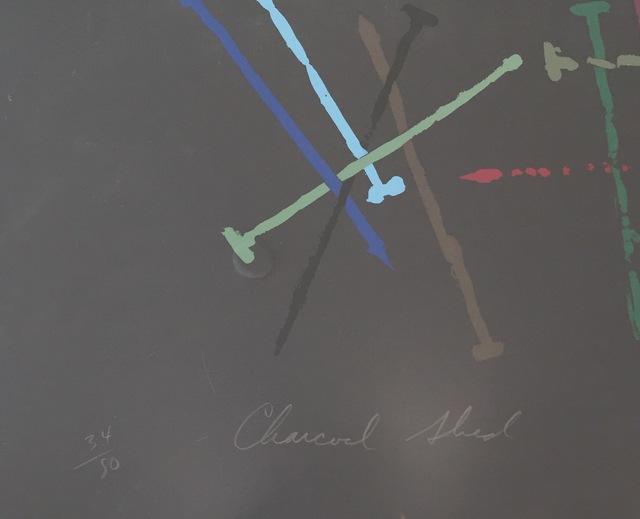 James Rosenquist, 'Charcoal Shed', 1974, Print, Screenprint, Gregg Shienbaum Fine Art