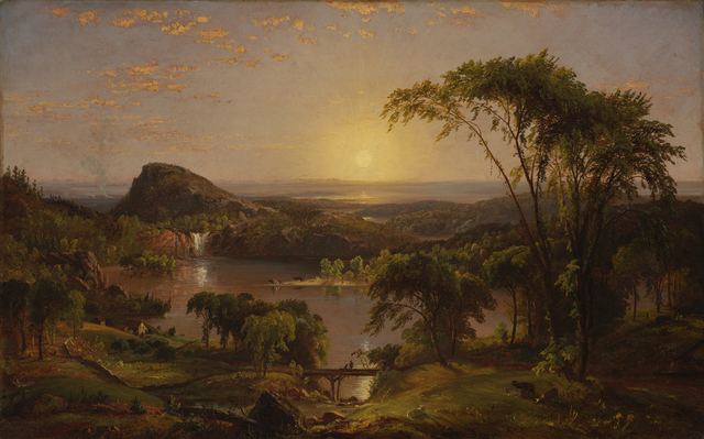 Jasper Francis Cropsey, 'Summer, Lake Ontario', 1857, Indianapolis Museum of Art at Newfields