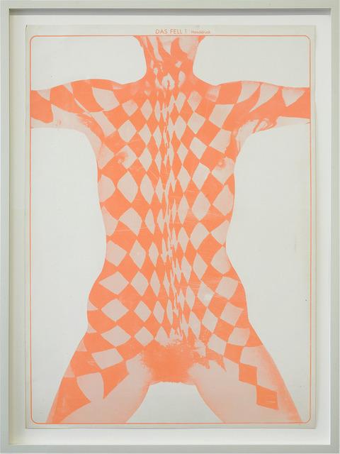 , 'Ohne Titel (Das Fell - orange),' 1964, KÖNIG GALERIE