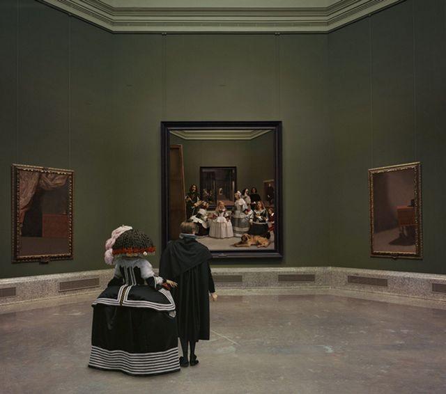 , 'Las Meninas renacen de noche VI:Kingdom's painting, painting's kingdom,' 2014, Galería Juana de Aizpuru