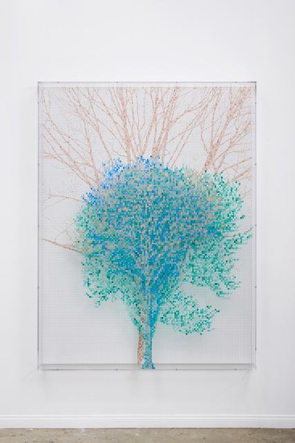 , 'Numbers and Trees: Central Park Series IV: Tree #3, Sol,' 2017, McEvoy Foundation for the Arts