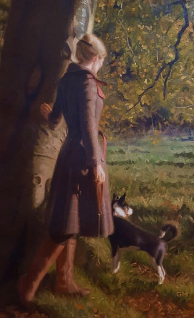Gary Thomas Morrow, 'Walk in the Braes', 2014, Graves International Art