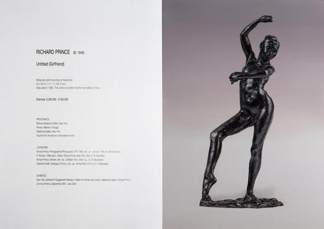 , 'Untitled (Prince / Degas) III,' 2015, Almine Rech