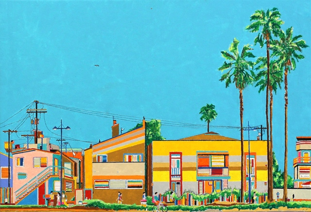 , 'Looking Back at Venice Beach,' 2015, Artspace Warehouse