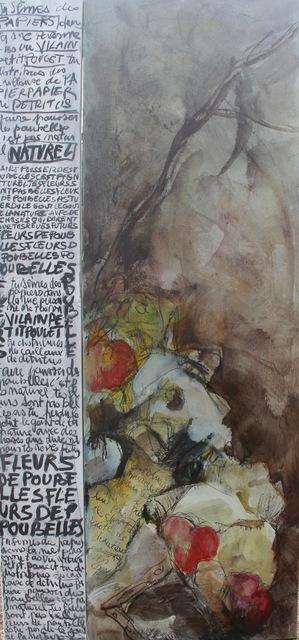 , 'Fleurs de poubelle,' 2017, LouiSimone Guirandou Gallery