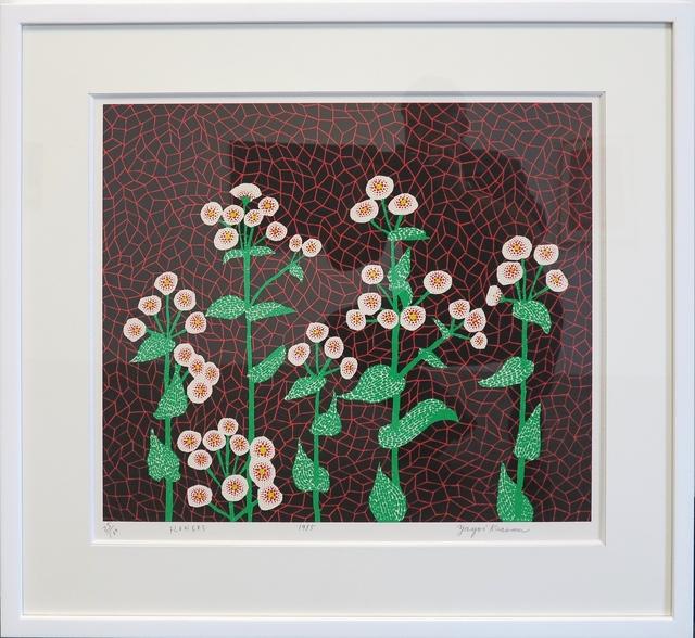 Yayoi Kusama, 'Flowers (2)', 1985, IKON Ltd. Contemporary Art