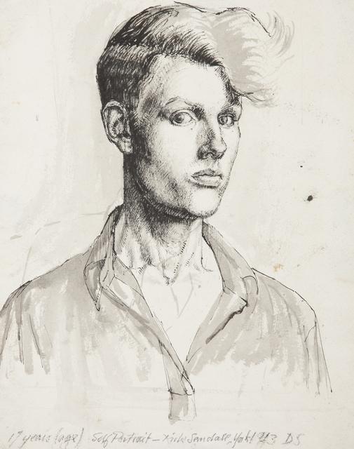 Derek Stafford, 'Self-portrait', 1943, Henry Saywell