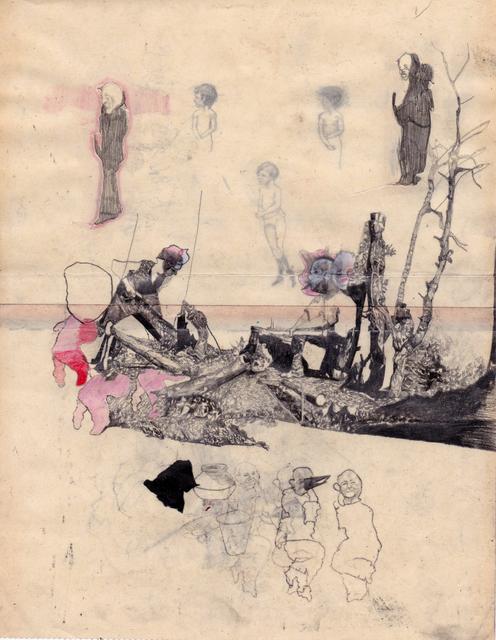 , 'Woodcutters I,' 2017, Cob