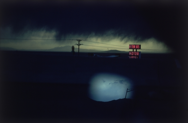 , ' Western Skies Motel. Colorado,' 1978, Magnum Photos