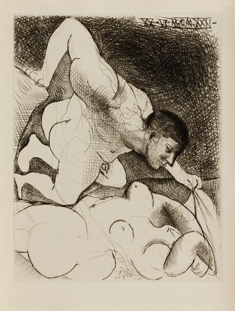 Pablo Picasso, 'Homme dévoilant une femme', 1931, John Szoke
