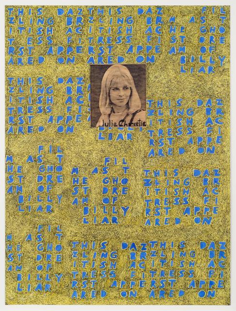 , 'Julie Christie,' 2014, Fleisher/Ollman