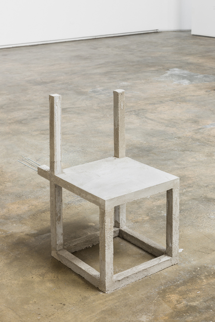 , 'Unfinished concrete chair #10,' 2015, Baginski, Galeria/Projectos