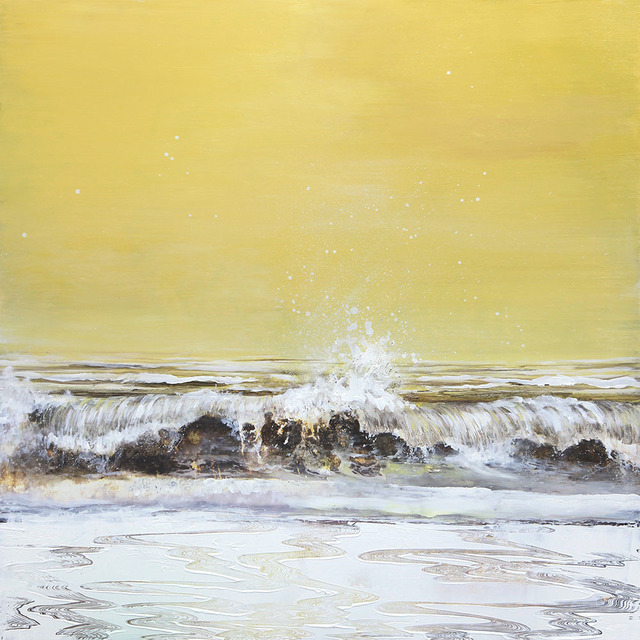 Steven Nederveen, 'Comfort of the Sea', 2020, Painting, Mixed media on panel, Foster/White Gallery