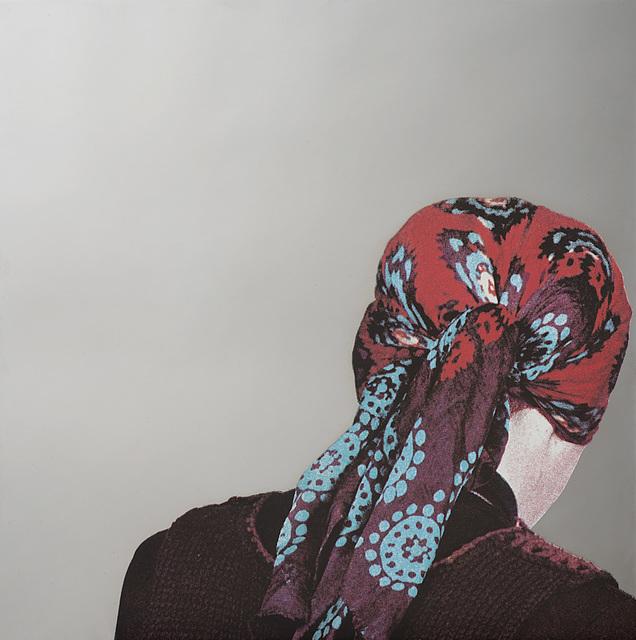 Michelangelo Pistoletto, 'Testa con foulard', 1982, Il Ponte