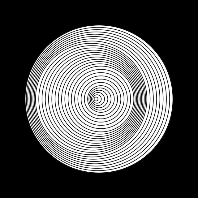 Marina Apollonio, 'Dinamica Circolare Cratere P Ø 30', 1968-2015, Painting, Enamel on wood - rotary mechanism, Espace Meyer Zafra