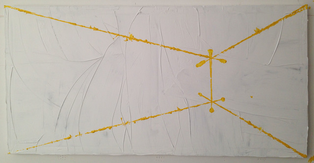, 'Projections in Yellow (Fig. 8) ,' 2015, Y Gallery