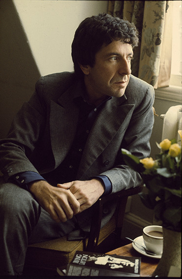 , 'Leonard Cohen, London,' 1974, ElliottHalls