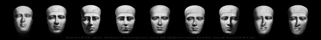 Giorgia Fiorio, 'Reserve Head ÄS 7787, Paradeigma F9 Original Edition, scale 1:1', 2017, Photography, Carbon Print on 100% Cotton Fibre, Galleria del Cembalo
