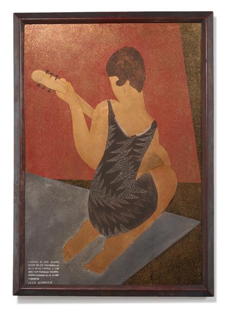 , 'Jeune femme à la guitare,' ca. 1930, Galerie Marcilhac