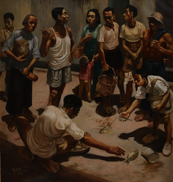 , 'Picking,' 1955, National Gallery Singapore