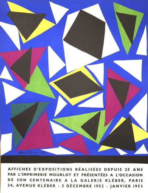 Henri Matisse, 'Affiches d'exposition', 1952, ArtWise