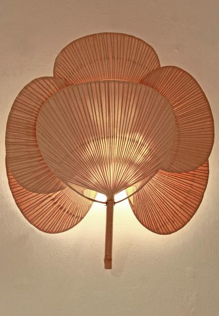 , 'Uchiwa IV wall lamp,' 1973, Luisa Delle Piane