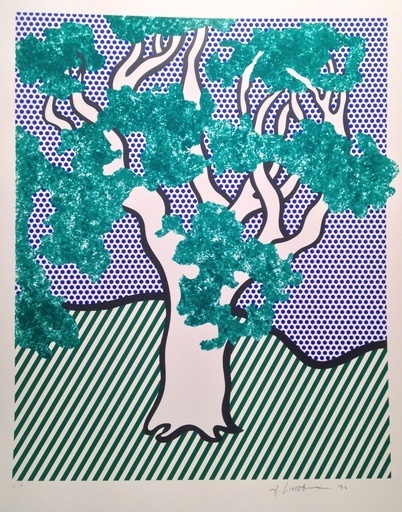 Roy Lichtenstein, 'Rain Forest', 1992, Upsilon Gallery