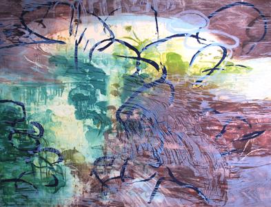 Michael Mazur, 'Pond Edge IV', 2005, Elizabeth Clement Fine Art