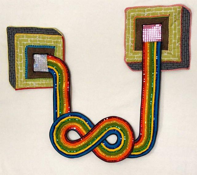 , 'IN ONE EAR,' 2019, Gallery Fritz