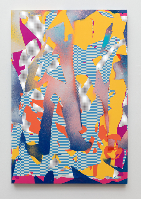 , 'Steady Stripes,' 2017, Erin Cluley Gallery