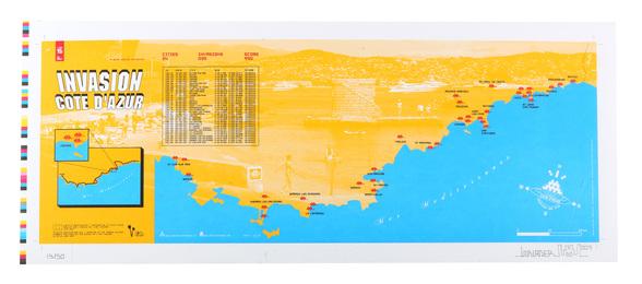 Invasion Map Cote D'Azur