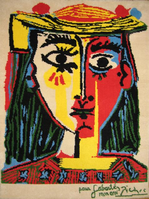 , 'Femme au chapeau a pompons et au corsage imprime ,' 1994, Fairhead Fine Art Limited