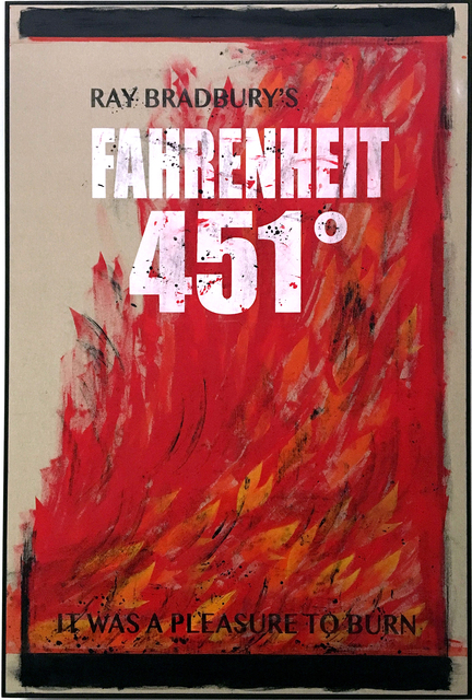 , 'Fahrenheit 451,' 2017, Christopher Grimes Projects
