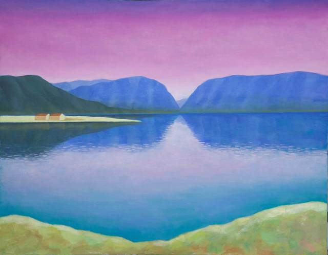 , 'Lake in the valley,' 2017, OYANU Gallery