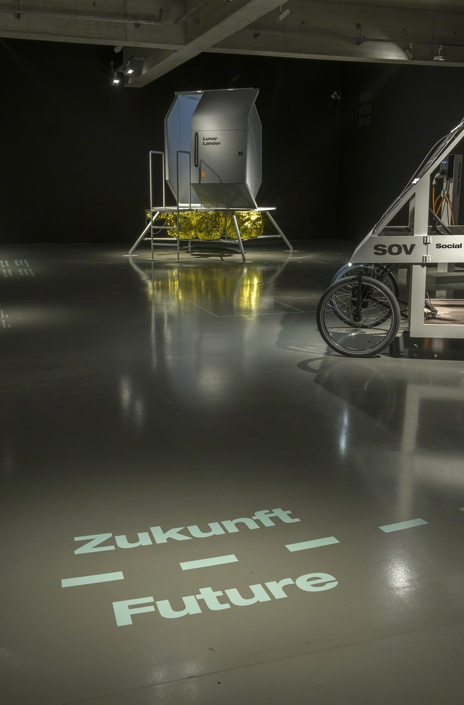 Exhibition View CLIMATE CHANGE!  From Mass Consumption to a Sustainable Quality Society MAK DESIGN LAB © Stefan Lux/MAK