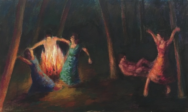 , 'A Night Dance 2,' 2015, Gallery One