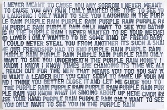 , 'Purple Rain,' 2018, Heather Gaudio Fine Art